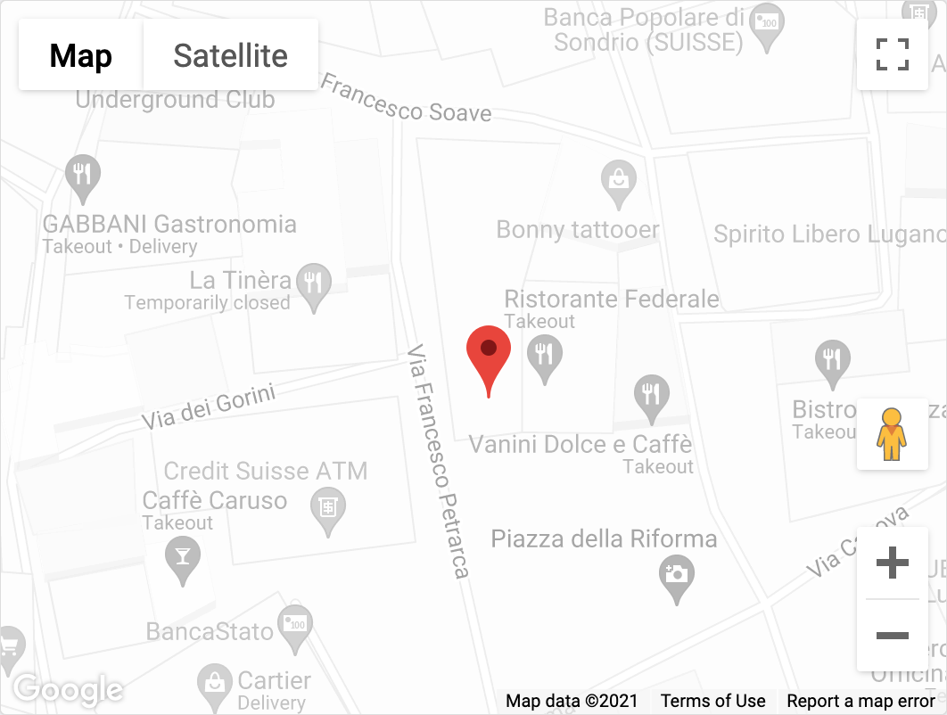 Sass Cafè - Location